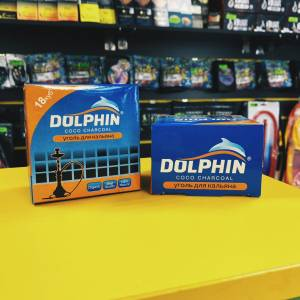 уголь для кальяна Dolphin 0.25кг
